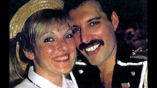 Mary Austin & Freddie Mercury 2