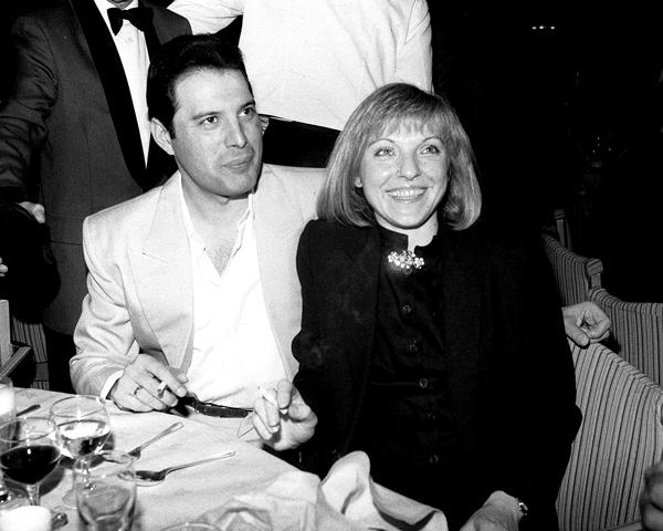 Mary Austin & Freddie Mercury 3
