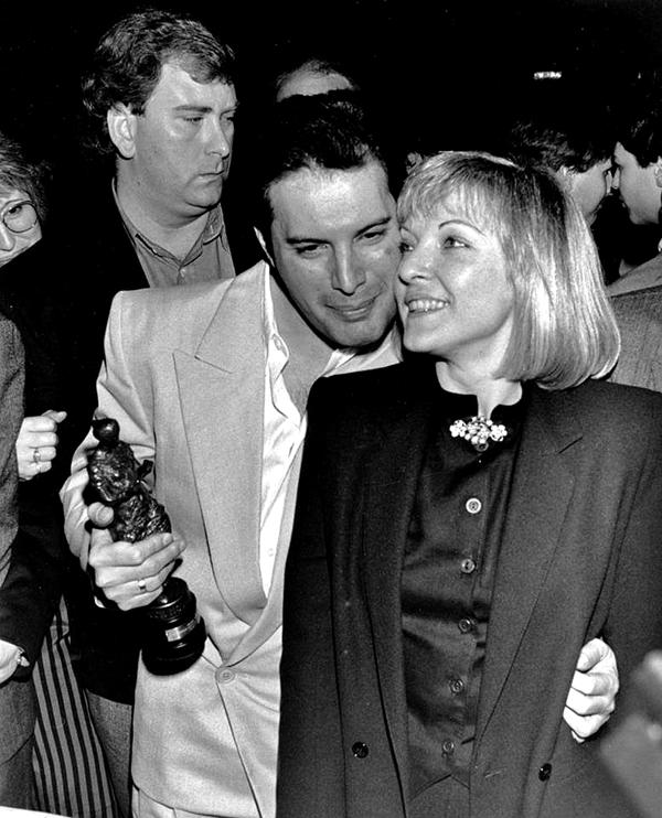 Mary Austin & Freddie Mercury 4