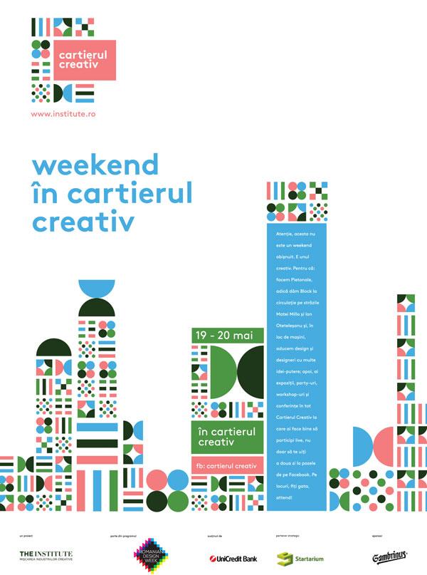 Weekend în Cartierul Creativ (19-20 mai)