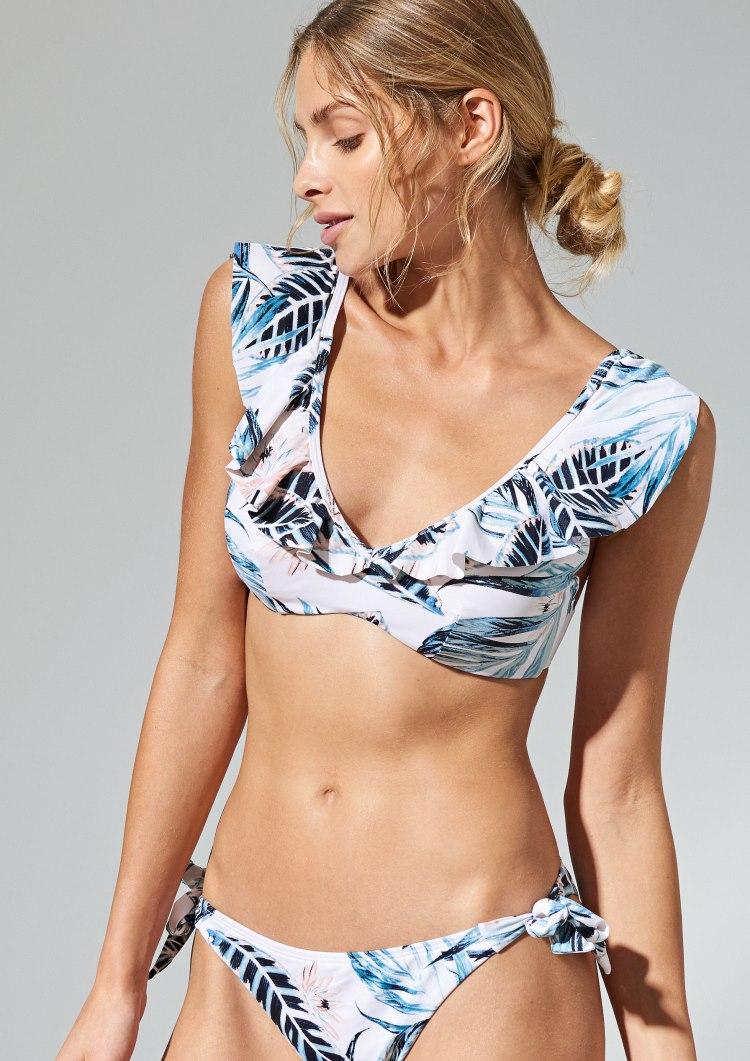 costum de baie cu flori tropicale reserved, 97,8 - piese separate