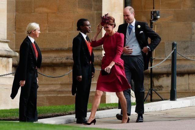 Kate Middleton si Meghan Markle, duel de stil la nunta printesei Eugenie. Iata cum s-au imbracat