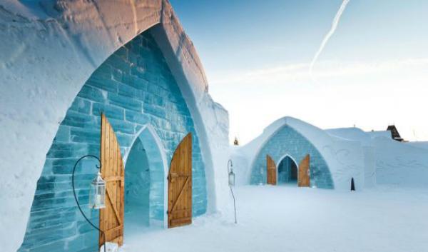 6 hoteluri de gheață pe care trebuie să le încerci în această iarnă