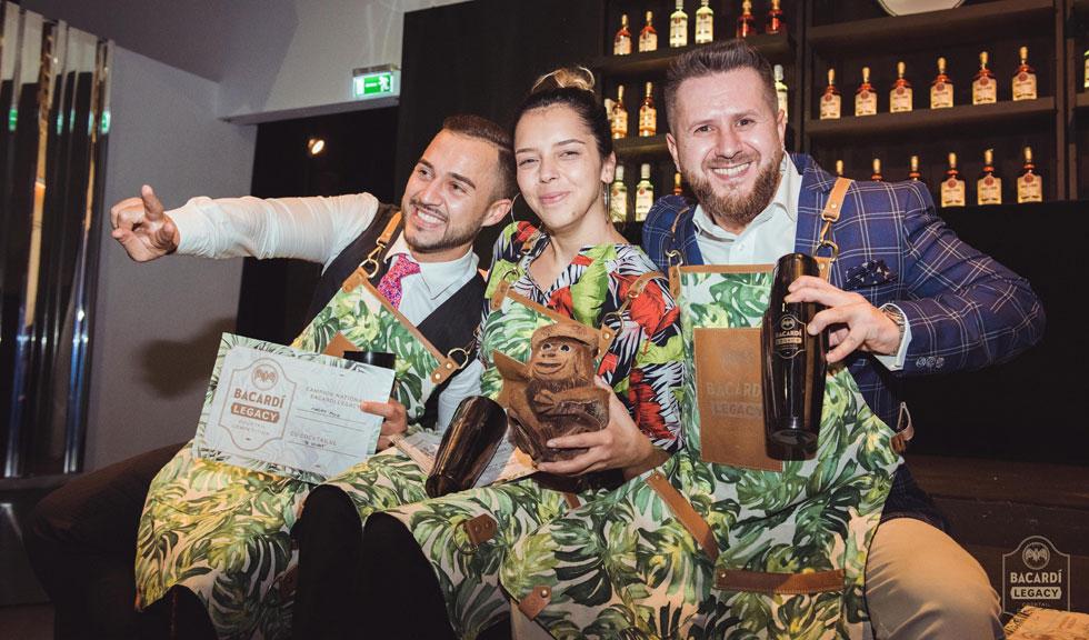 (P) Trei barmani români vor merge la Moscova în etapa următoare a celebrului concurs Bacardi Legacy