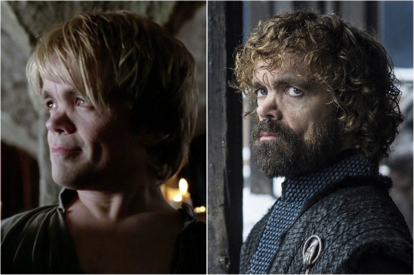 Personajele din Game of Thrones: Sezonul 1 vs. Sezonul 8
