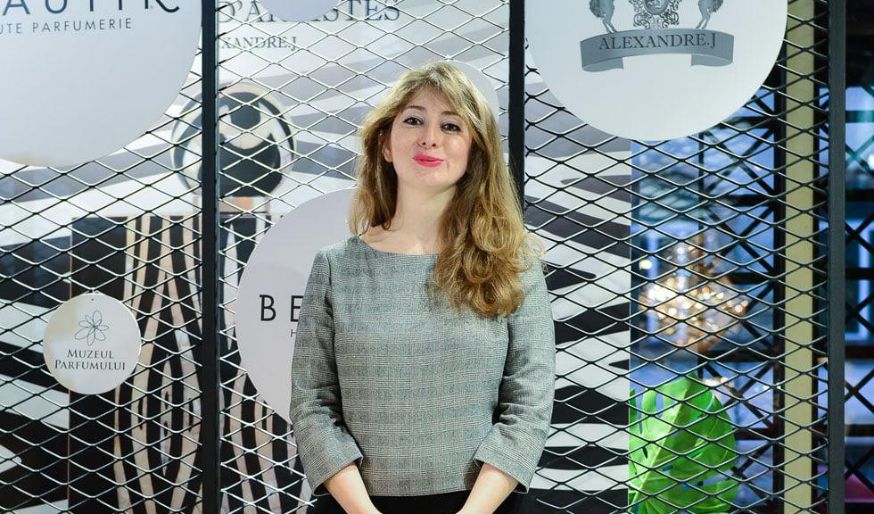 Despre parfumuri și emoții cu Amelie Jabban, Global Brand Manager Alexandre.J