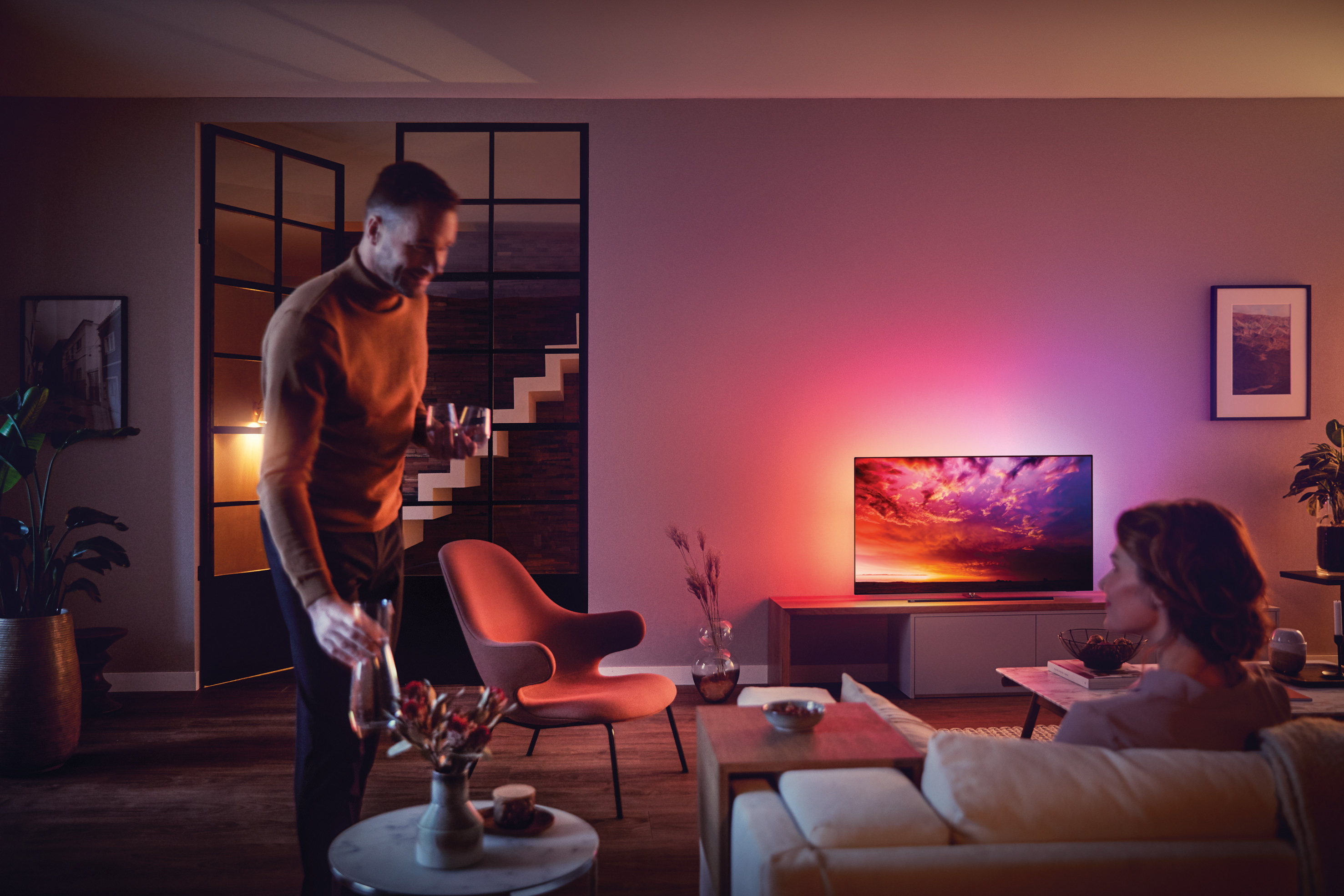 (P) The One by Philips Tv