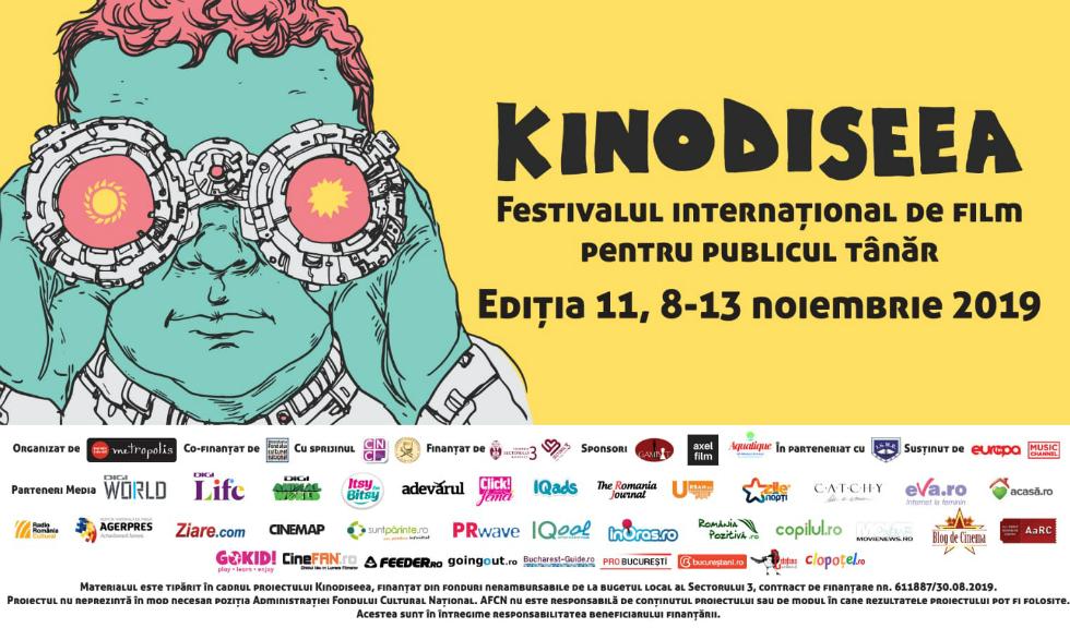 Începe cea de-a XI-a ediție KINOdiseea, la București Crina Semciuc, Olimpia Melinte și Cristian Popa în juriul festivalului