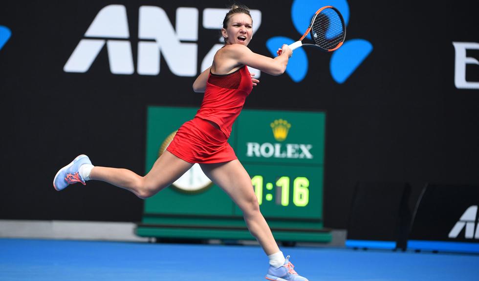 Simona Halep pierde cu Muguruza, ratează calificarea în finala Australian Open