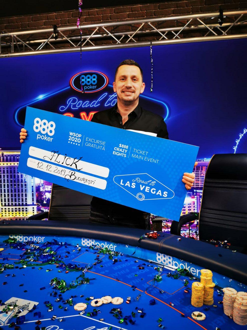 (P) Flick la poker este As, la vară merge-n Vegas