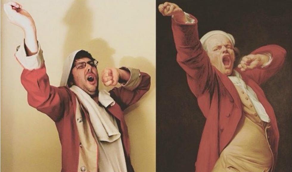 Getty Museum propune oamenilor să reproducă opere celebre într-un mod inedit, iar rezultatul este foarte amuzant