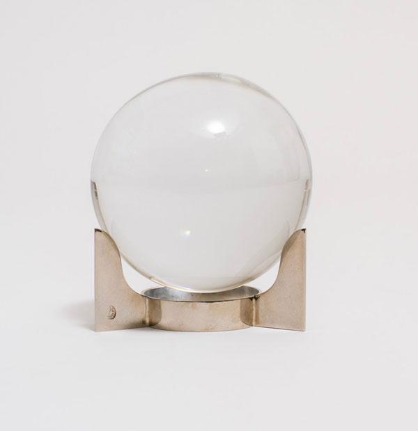 CRYSTAL BALL. JACQUES ADNET, C. 1940 (Sophie Buhai)